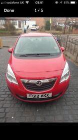 Vauxhall Meriva 1.7 Cdti 2012