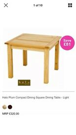 Halo plum dining table sits 4 New paid £320.00,selling for £120