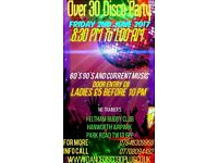 Over 30s Disco Party @ Feltham Rugby Football Club