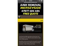 Rubbish Removal/ junk Removal/ furniture items single items full loads /man and van services