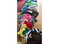 WOMENS MENS KIDS CLOTHES 40 ITEMS GOOD CONDITION GLUSBURN BD208DW,W.YORKS SUTTON,CROSSHILLS,KEIGHLEY