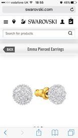 Swarovski Emma earrings