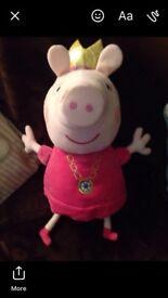 Peppa pig soft toy good working
