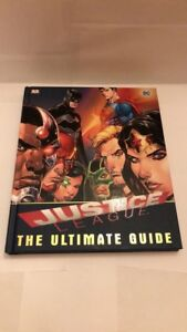 Justice League The Ultimate Guide Hardcover DC Comics