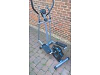 Pro Fitness Cross Trainer with Computer/Counter/Heart-rate monitor