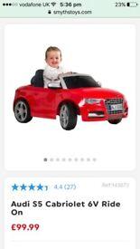 Kids electric Audi
