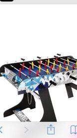 Brand new 4ft fold away football table