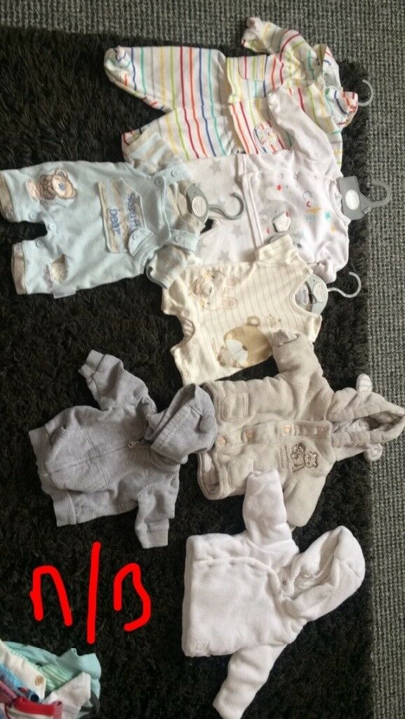 MASSIVE baby boy clothes bundle newborn/first size