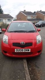Toyota Yaris - Lovely Automatic Car -Urgent sale required due to moving abroad