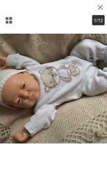 Berenguer newborn baby boy and girl