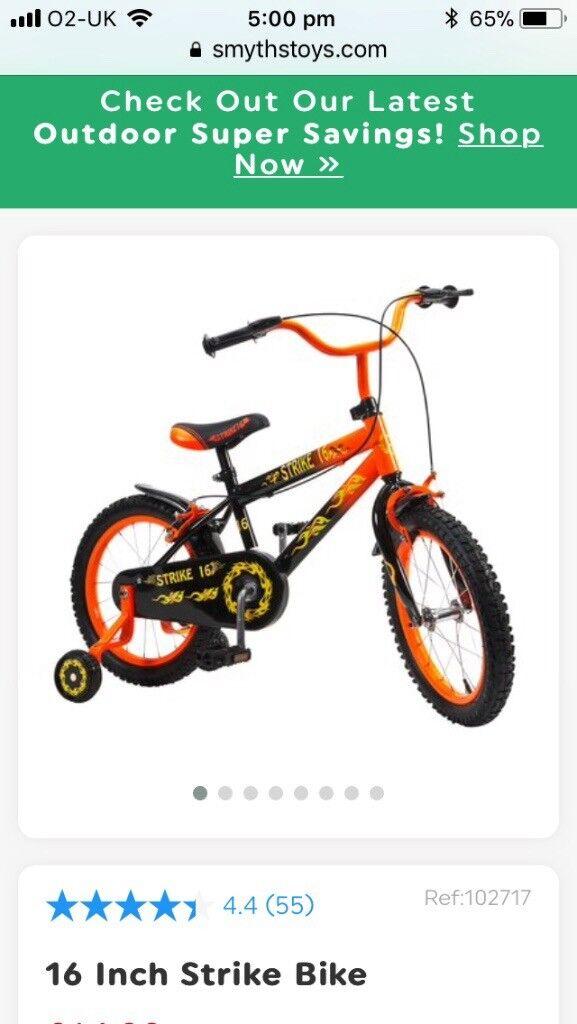 Boys 16 inch bike like new