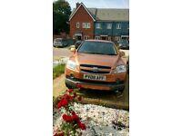 Chevrolet Captiva LT Diesel 7 seater 4 X4 SUV 2008 Low Milage model for sale + New MOT + New Tyre
