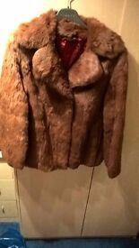 Ladies Vintage Coney Fur Jacket