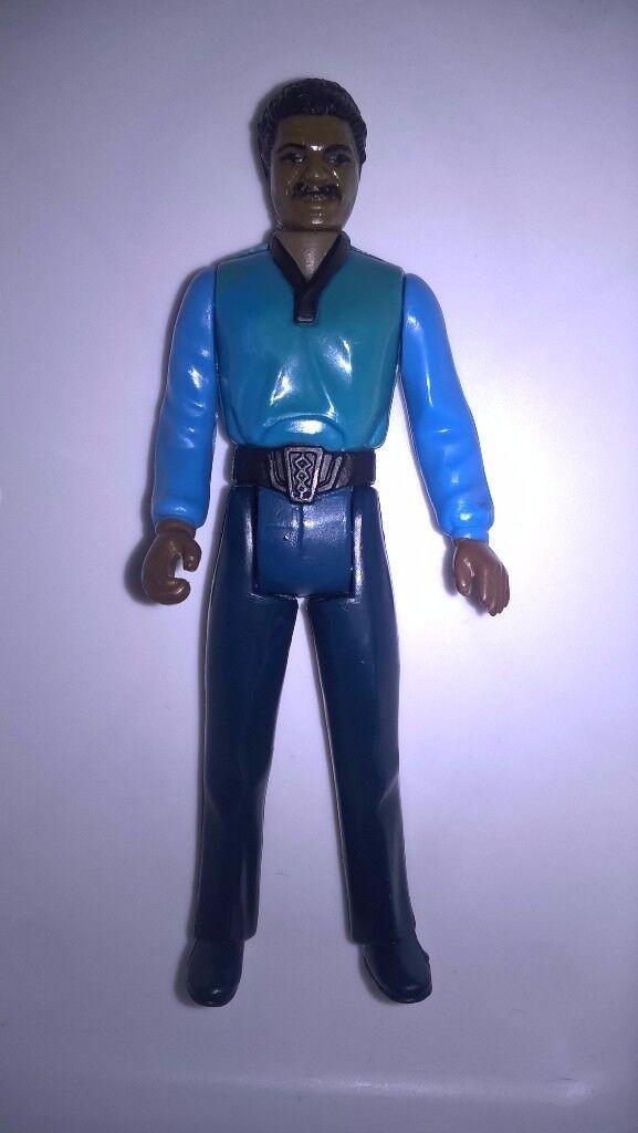 """Vintage Star Wars Lando Calrissian 3.75"""" Figure"""