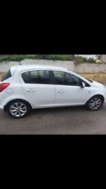 VAUXHALL CORSA 1.3 LOW MILEAGE AND 12 MONTHS MOT