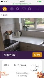 1 Bed Flat Hitchin Hertfordshire looking to swap to Birmingham