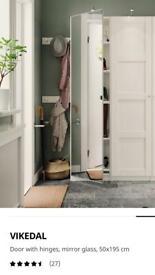 IKEA mirrored wardrobe door for pax wardrobe x1