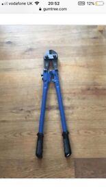 Brand new bolt cutters