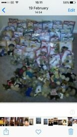 Collectable teddies