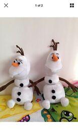 Disney frozen come apart talking Olaf