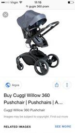 Cuggl 360 pushchair