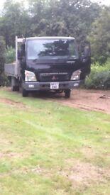 Truck Mitsubishi fuso canter