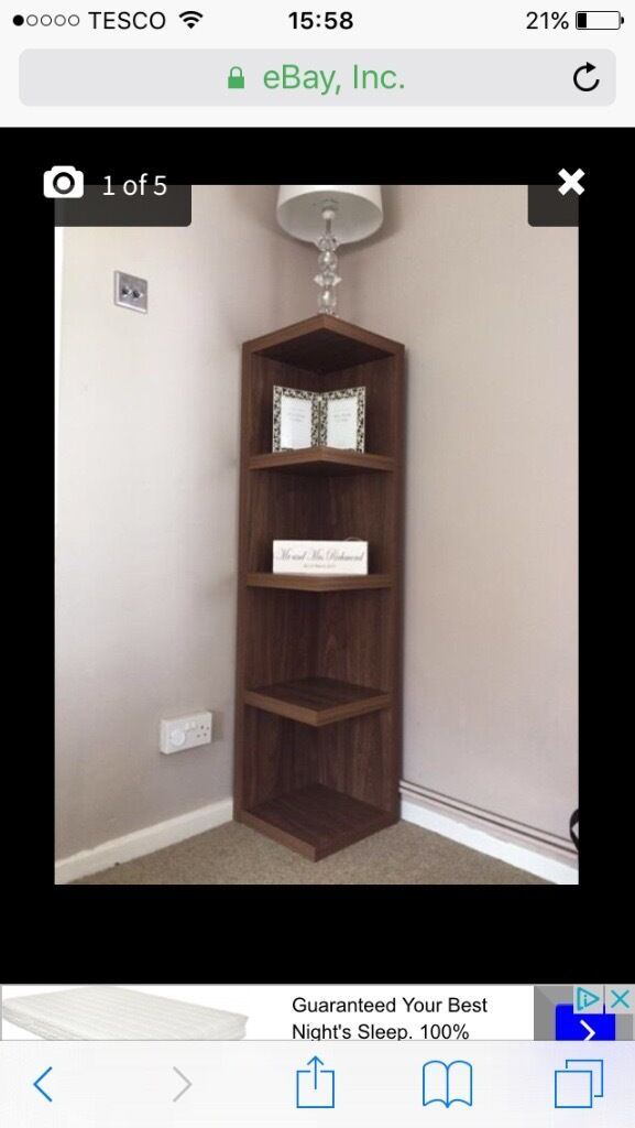 Next walnut corner unit in Coatbridge North Lanarkshire  : 2486 from www.gumtree.com size 577 x 1024 jpeg 47kB