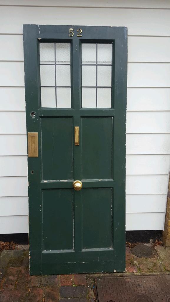 Solid External Front Door