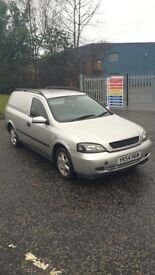 Vauxhall Astra Sportive Van Mot Low Mileage (Cheap)