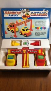 Rainbow Racers Car Race Game Age 4+
