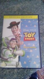DVDs TOY STORY (3)/PLANES/BEDTIME STORY CD/NURSERY RHYME CD