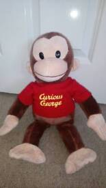 Official curious george soft Teddy