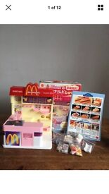 Dolls toy shop McDonald store for Licca doll