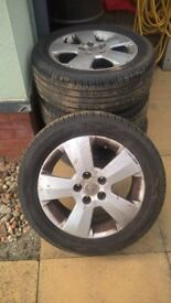 vauxhall tyres and wheels 205/55/16