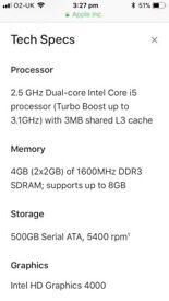 MacBook Pro (13.3-inch, Mid 2012) AMAZING CONDITIO