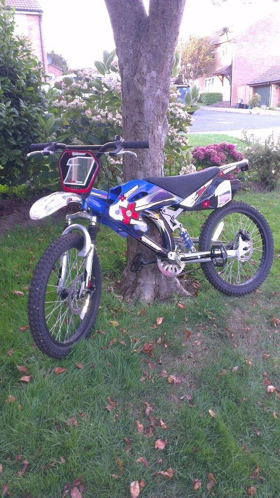 X Games Moto Bike Bmx Bicycle 20 Inch Disc Brakes Full