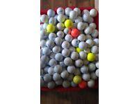 Callaway, srixton and Titleist lake balls
