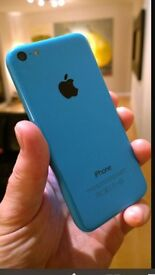 *Blue IPhone 5C* immaculate condition