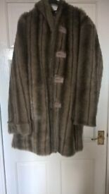 Dennis Basso reversible coat