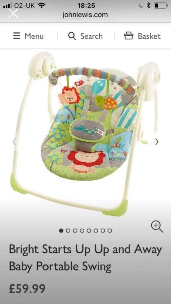 Baby swing unisex
