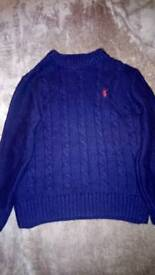 Blue Zoo age 6-7 cable knit jumper