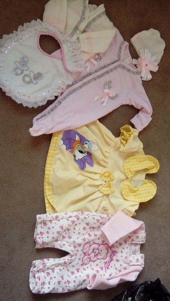 Baby girls stunning cloths 0-3 3-6 months