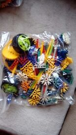 Knex construction toys