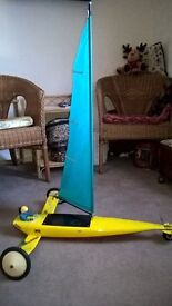 For Sale radio controled Sand Yacht