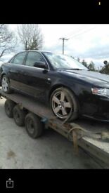 2006 Audi A4 sline breaking for spares