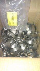 76mm Sign clamps (clips) x 100