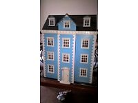 Furnished dolls house for sale