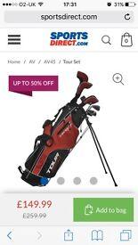 Dunlop tour golf clubs full set