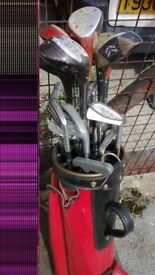 Golf SET Clubs And choice of Bag -