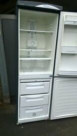 Daewoo Silver fridge freezer....50/50 cheap free delivery
